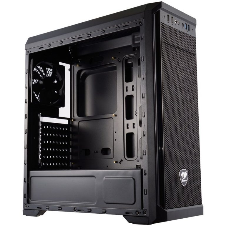 Chassis COUGAR MX330-G Mid-Tower, Mini-ITX/Micro-ATX/ATX, Max. Graphics Card Length-350mm/12.8 (Inch), Max. CPU Cooler Height-15
