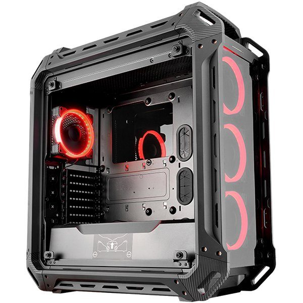 Chassis COUGAR PANZER EVO Full-Tower, Mini ITX/MicroATX/ATX/ CEB/L-ATX/E-ATX (E-ATX up to 12″x11″ ), Max. Graphics Card Length-390mm/15.35 (Inch),Max. CPU Cooler Height-170mm/ 6.69 (Inch), CM, Water Cooling Support,USB3.0x2/USB2.0x2 Micx1/Audiox1