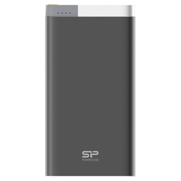 SILICON POWER (Power Bank)10000mAh,Power BankPetroleum S105,Black