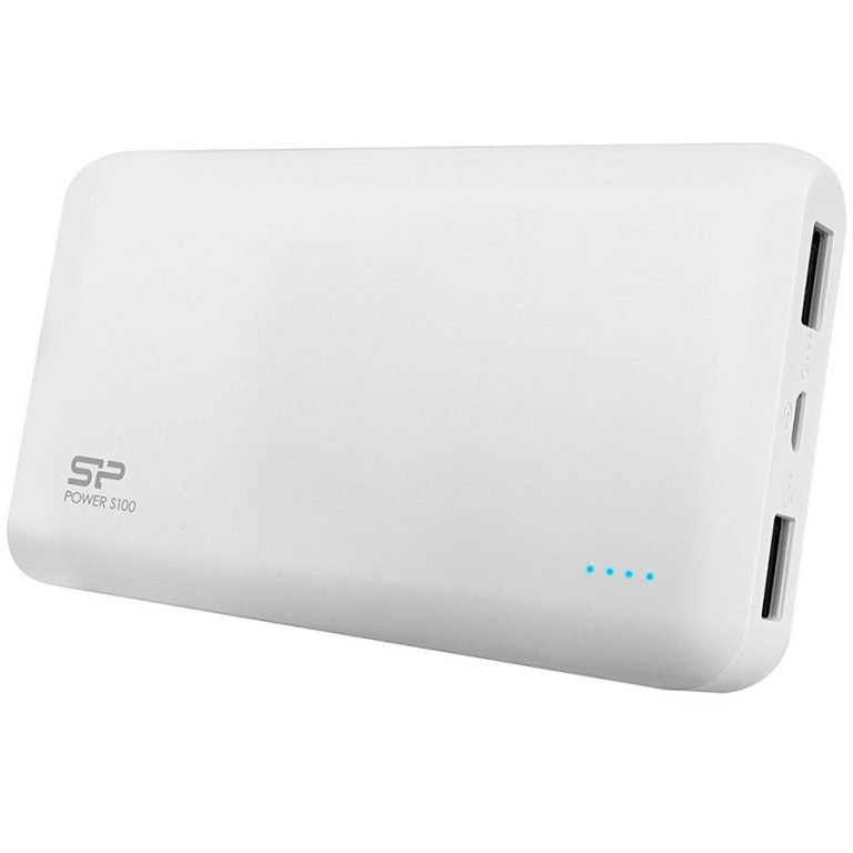 SILICON POWER (Power Bank)10000mAh,Power BankPetroleum S100,White