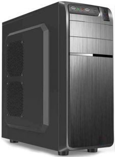 Chassis DELUX DLC-DW600 Midi Tower, ATX, USB3.0, without PSU, Black