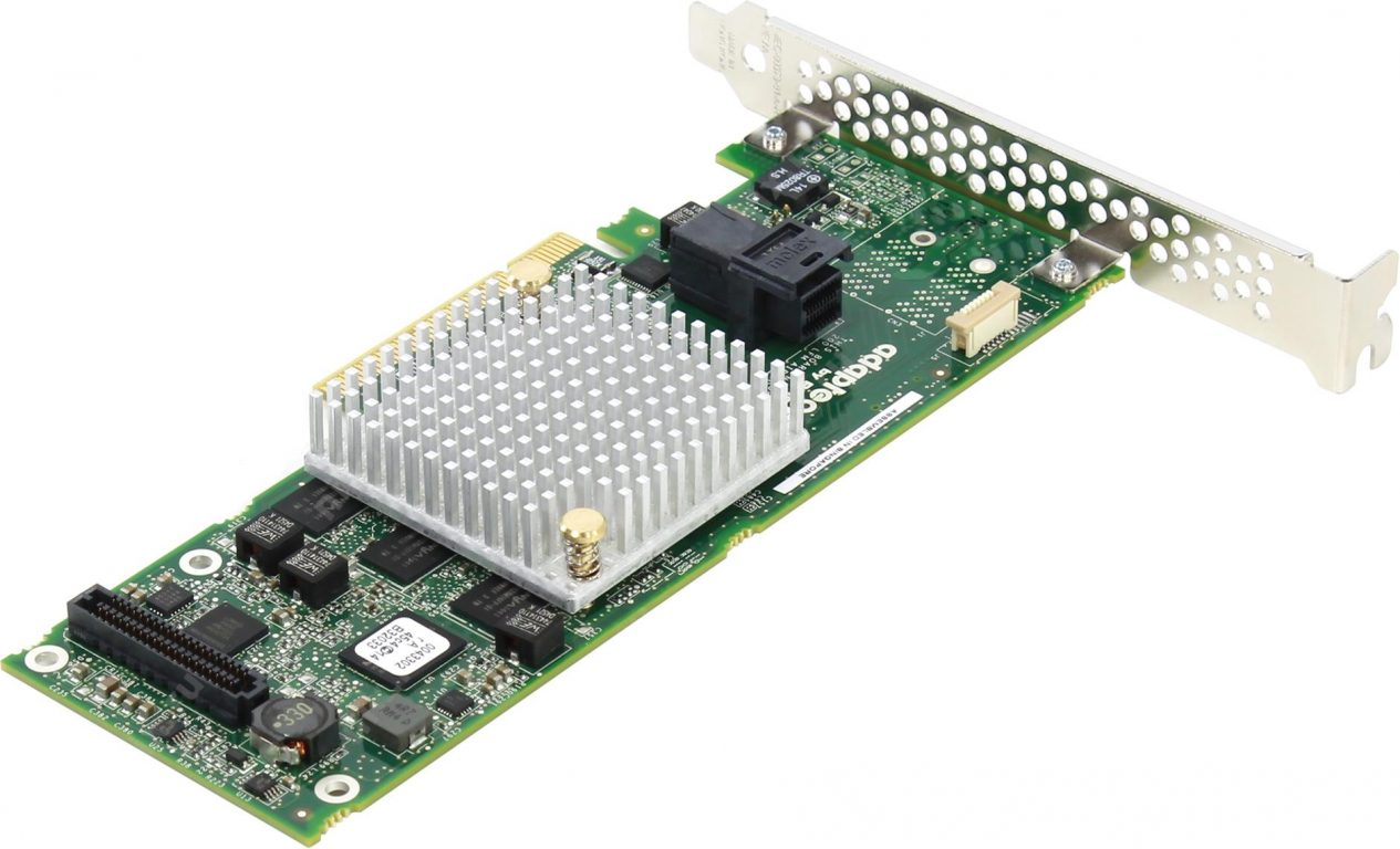 Adaptec RAID 8405 Single, 2277600-R, 4 internal ports, 1 x SFF-8643(internal)