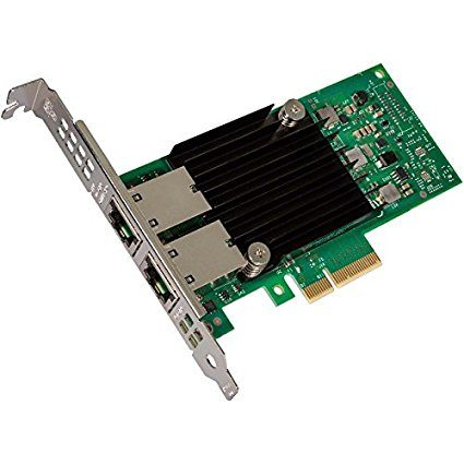Intel Ethernet Converged Network Adapter X550-T2, Single Pack