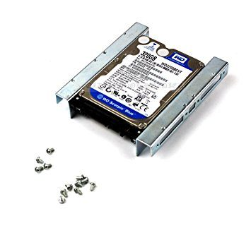 Hard Drive Bracket Converter 2.5″ to 3.5″. Install a 2.5″ SATA/SAS/SSD drive in the 3.5″ Tray