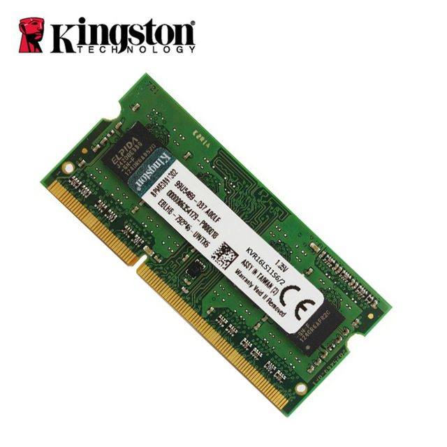 Kingston  2GB 1600MHz DDR3 Non-ECC CL11 SODIMM 1Rx16, EAN: '740617226744