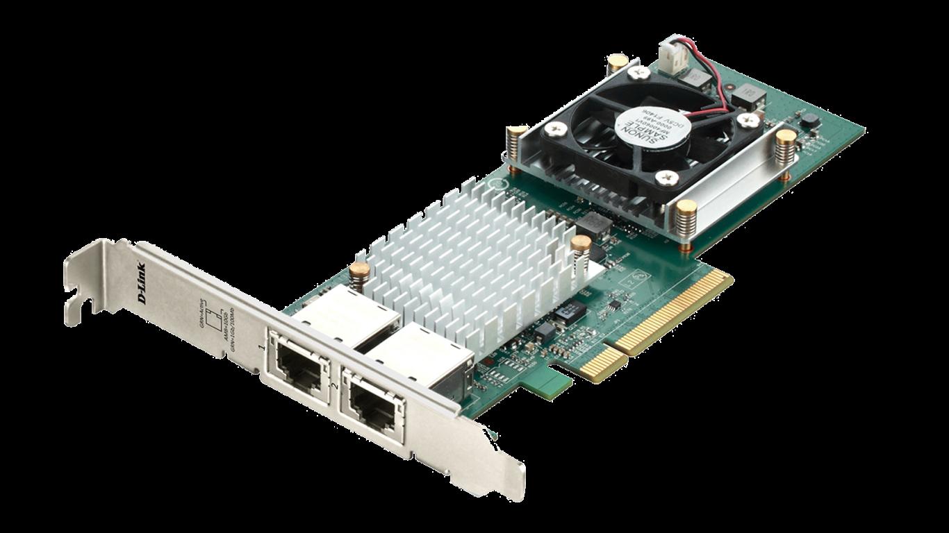 Мрежова Карта INTEL (PCI Express, 10GBase-T, 10 Gigabit Ethernet) С опаковка