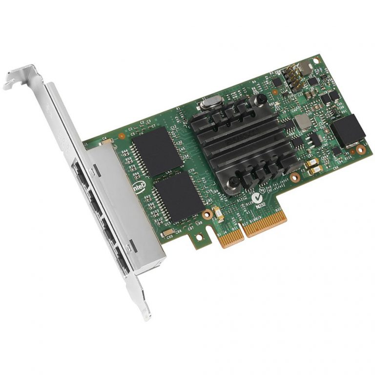 Intel Ethernet Server Adapter I350-T4V2, retail bulk