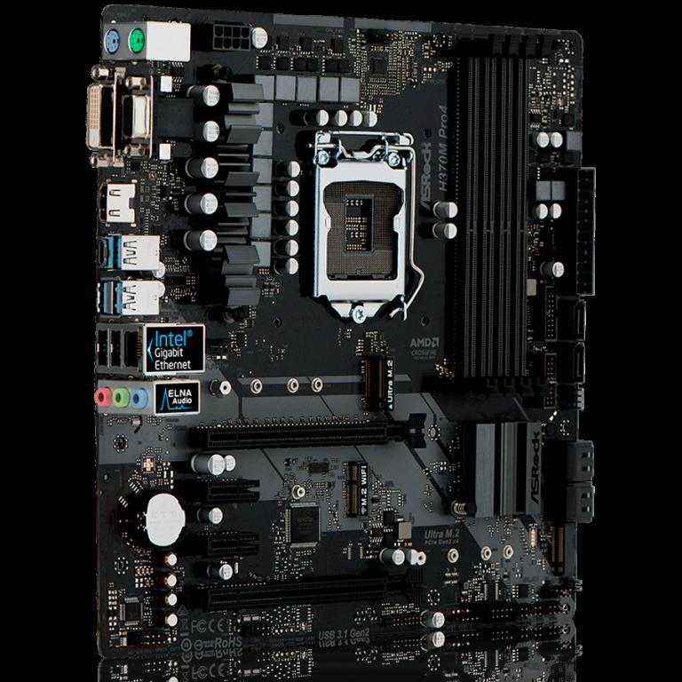 ASROCK Main Board Desktop H310 (S1151, 2xDDR4,1xPCIe x16,1xPCI Ex1, 4 SATA3 ,GLAN,VGA,DVI,HDMI,USB 3.1 ) mATX retail