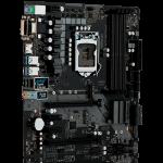 ASROCK Main Board Desktop H370 (S1151, 4xDDR4,2xPCIe x16,3xPCI Ex1, 6 SATA3 ,2x Ultra M.2, GLAN,VGA,DVI,HDMI,USB 3.1 ) ATX retail