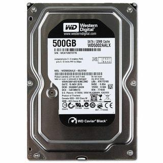 WD Black HDD Desktop (3.5″, 500GB, 64MB, SATA III-600)