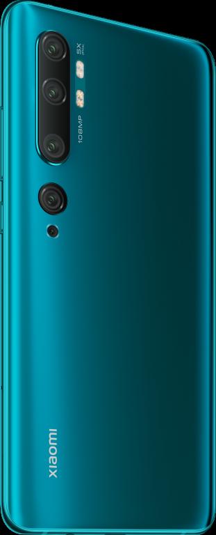 Smartphone Xiaomi Mi Note 10 6/128 GB Dual SIM 6.47″ Aurora Green